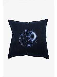 Borduurpatroon zon maan sterren