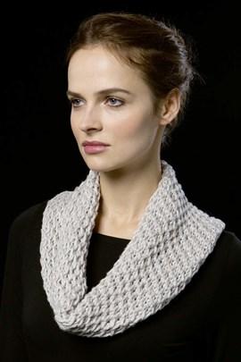 Breipatroon ronde sjaal van het ....
