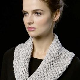 lang Yarns Breipatroon ronde sjaal van het breigaren Langyarns 933 Amira