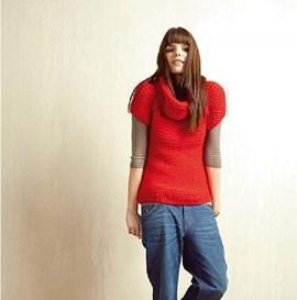 eenvoudig breipatroon trui met korte ....