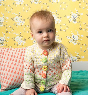 Brei- en haakpatroon Gebreid Baby Jasje