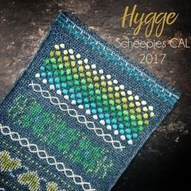 Haakpatroon omslagdoek Cal 2017 Hygge ....