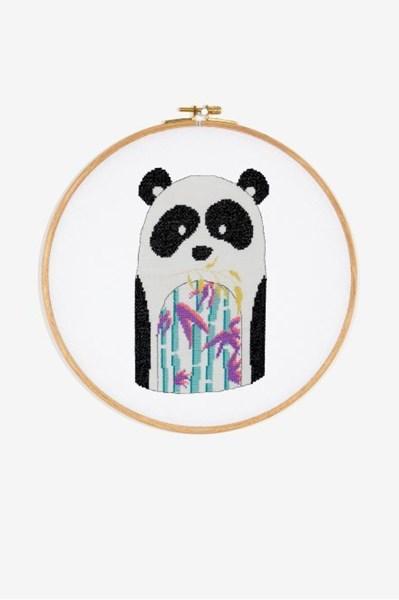 Borduurpatroon Panda