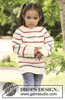 Gebreide trui met raglan, wordt van ....
