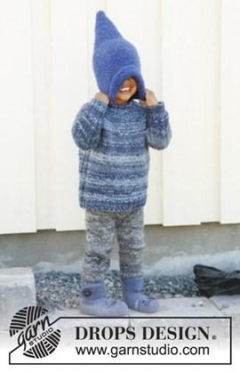 Gebreide trui met raglan van Fabel en Delight. Maat 3 tot en met 12 jaar.