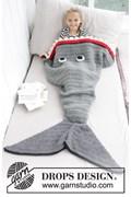 Haakpatroon haai-deken voor kinderen, ....