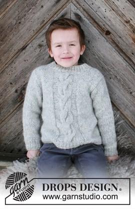 Breipatroon trui Isak. Deze trui voor ....