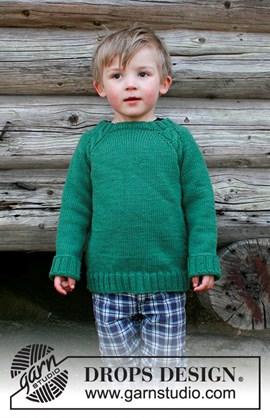 Breipatroon trui voor jongens, genaamd ....