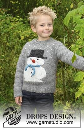 Breipatroon trui Frostys Christmas ....