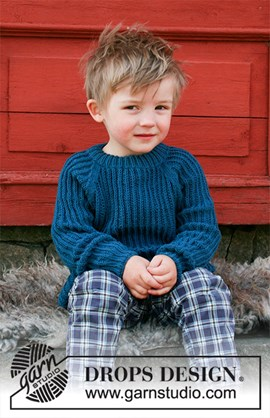 Breipatroon trui Perkins voor jongens. ....