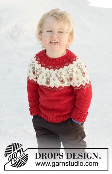 Breipatroon Jongens kersttrui