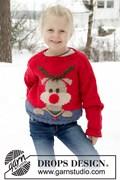 Breipatroon kinder kersttrui met ....