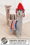 DROPS haakpatroon Alpaca cousins, ....