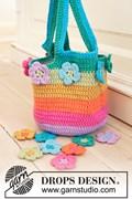 Haakpatroon flower market bag, meisjes ....