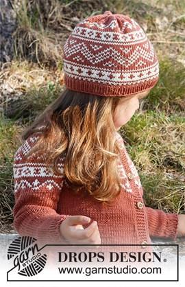 DROPS breipatroon Lillesand Hat, ....