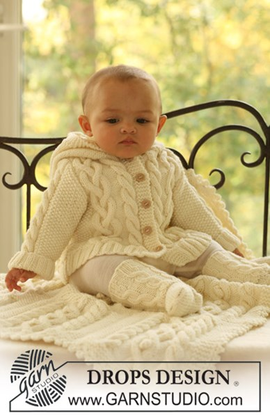 Haakpatroon Vest, sokken en deken