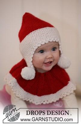 Breipatroon kerstkraag