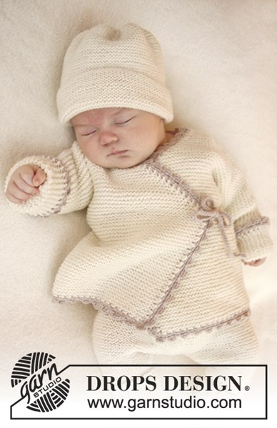 Breipatroon Overslagvestje voor baby