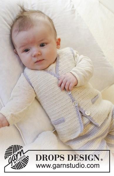 Haakpatroon Giletje voor baby