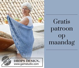 Gratis patroon - Breipatroon omslagdoek
