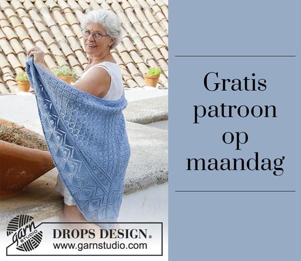 Gratis patroon - Breipatroon omslagdoek