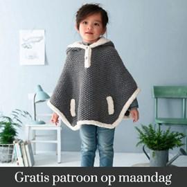 Gratis patroon - Breipatroon poncho