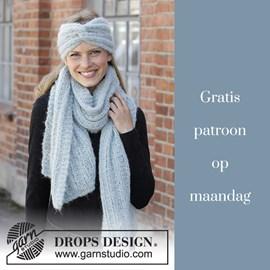 Gratis patroon - Breipatroon hoofdband en sjaal