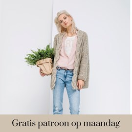 Gratis patroon - Breipatroon vest