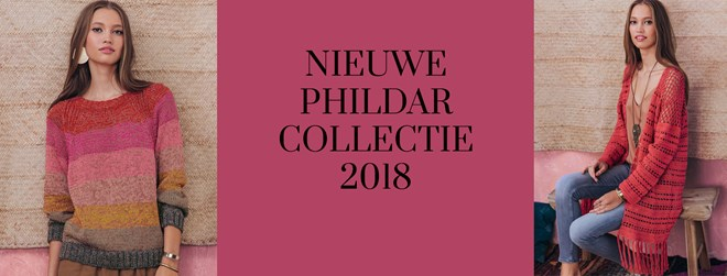 Phildar collectie 2018