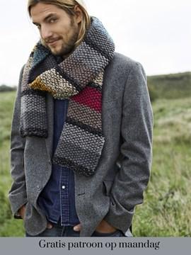 Gratis patroon - Breipatroon sjaal