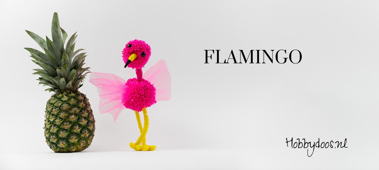 zelf je eigen flamingo maken