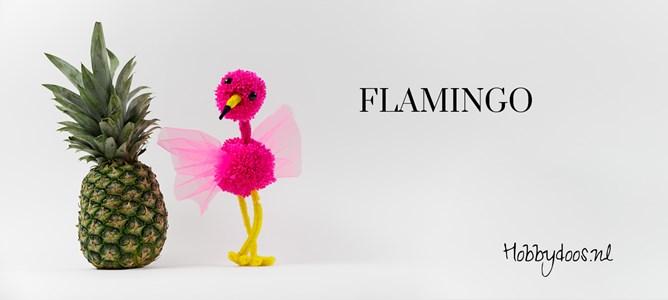 flamingo van pompon