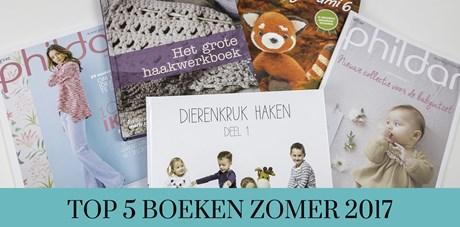 Top 5 handwerkboeken zomer 2017