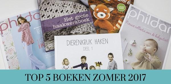 Top 5 Handwerkboeken Zomer 2017 Hobbydoosnl