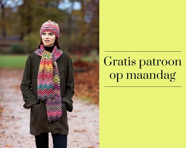 Gratis patroon - Breipatroon muts en sjaal