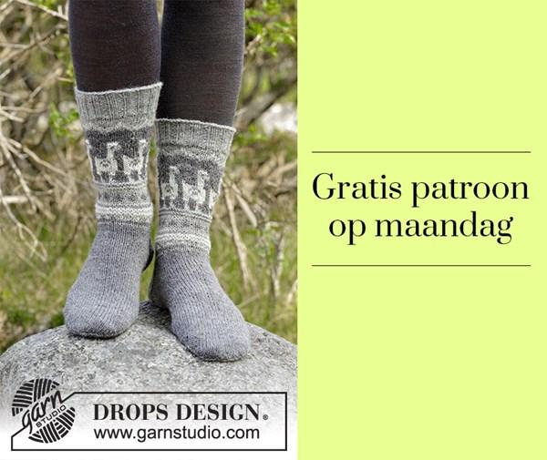 Gratis patroon - sokken