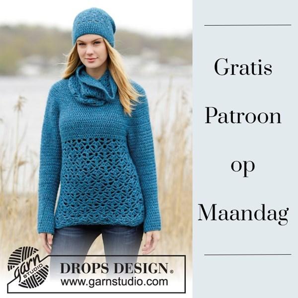 Gratis patroon op maandag - Haakpatroon trui