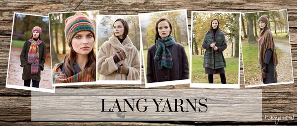 Lang Yarns modellen in de Telegraaf
