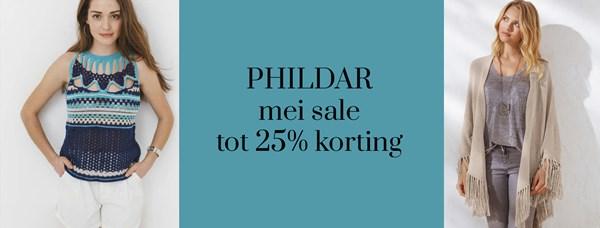 PHILDAR mei Sale tot 25% korting