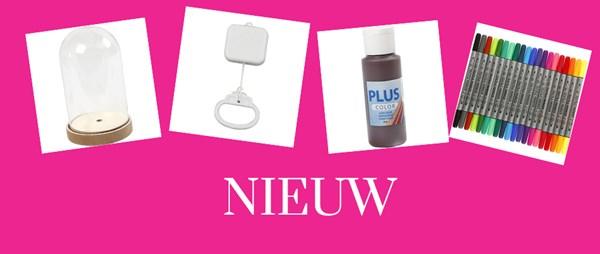 nieuw in collectie bij Hobbydoos.nl