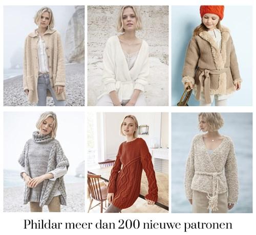 Phildar meer dan 200 nieuwe patronen voor de winter
