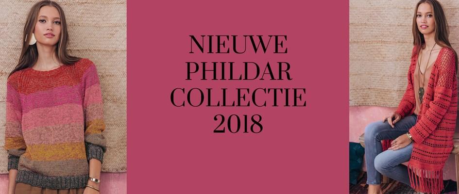 Phildar Herfst en wintercollectie 2017-2018