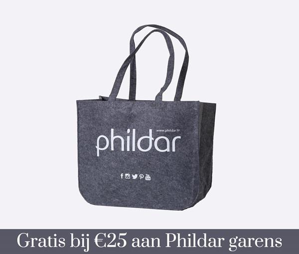 Gratis tas bij €25 Phildar garens