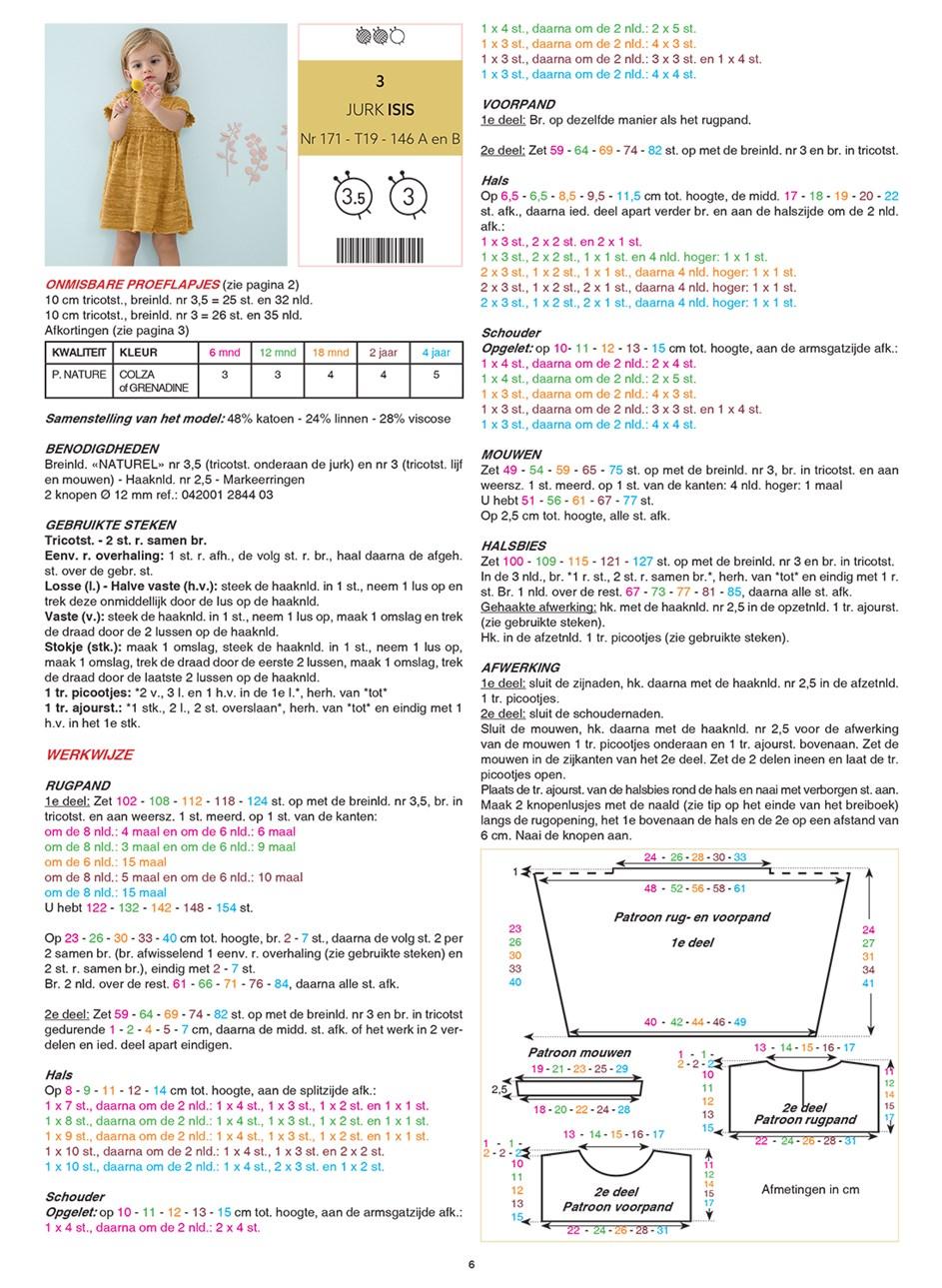 Gratis patroon - Breipatroon jurkje